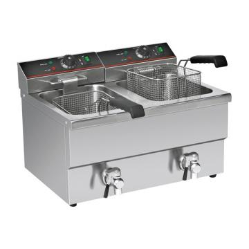 Gas Deep Fryer with Cabinet for Hotel and Restaurent Es900-G801