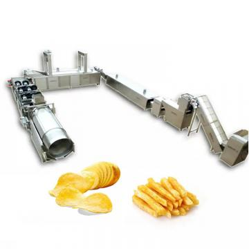 Twist Snack Potato Pellets Chips Cracker Snack Maker Spiral Papad Fryum Manufacturing Equipment