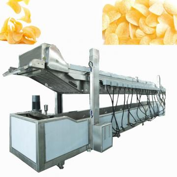 Manufacturing Frying Production Line Machine Fresh French Fries Flakes Stick Fully Automatic Sweet Potato Chips Making Equipment